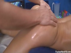 sensual, oil, video, table, room, sexiest, massage, big, erotic, tits, movies