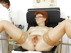 speculum, bizarre, wife, mature, enema, hospital, vagina, check, doctor, mom, milf, cervix, pussy, granny
