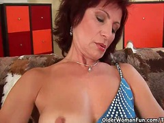 milf, mommy, grandmother, hairy, granny, grandma, masturbation