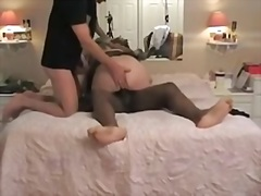 Private Home Clips:戴绿帽子, 第一次, 黑人, 老婆