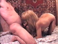 Sharing old sex tape clip i discovered on the web