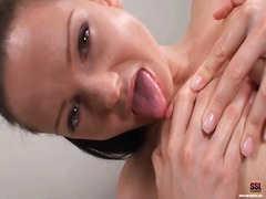 Sandra Shine, tits, masturbation, sandra shine, close, finger, big