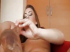 Rocco siffredi whips out his sausage to fuck mouth-watering mia as love hole