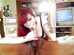 Perverted interracial non-professional couple teasing