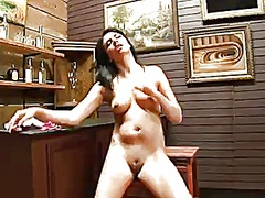 Danica dillan gives a closeup of her beaver as she masturbates