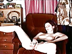 My sensual orgasm in the living room