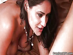 Charley chase is good on her way to satisfy her lesbian girlfriend cassidey
