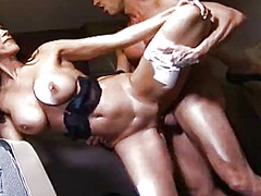 Hot babe gets fucked at pilot's cabin