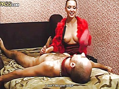 Aurita shows her slutty side to hot guy by taking his rock solid love torpedo in her mouth