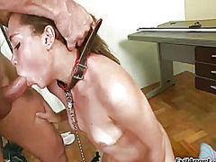 Stefany gold gives blowjob like no other and hard cocked bang buddy knows it