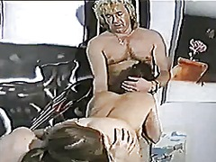 argentinian, cumshot, threesome, style, doggy-style, vintage, doggy