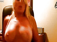 masturbationen, webcam, blond, reif, milf